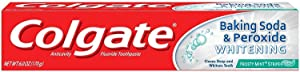 Colgate Baking Soda & Peroxide Whitening Toothpaste Frosty Mint Stripe