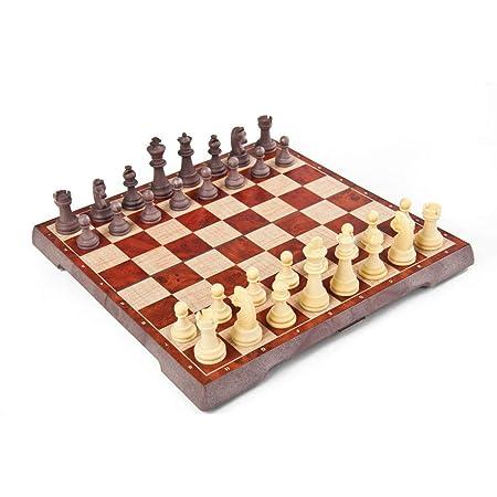 Tablero de ajedrez Juego de ajedrez de plástico con tablero de ...