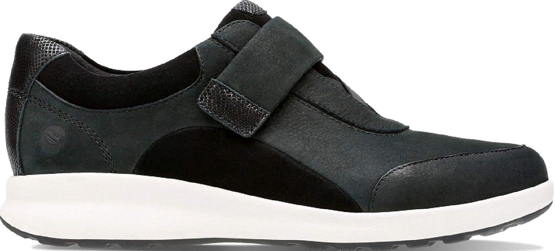 Clarks Adorn Lo, Zapatillas para Mujer 36 EU Negro (Black Combi -)