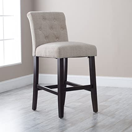 Excellent Morgana Tufted Bar Stool Dailytribune Chair Design For Home Dailytribuneorg