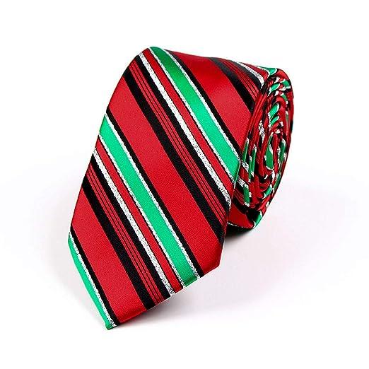 HONGNA Corbata De Navidad para Hombre Corbata Azul Flecha Forma ...