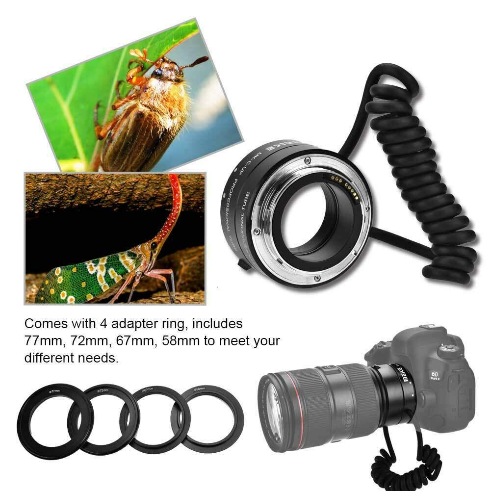 RONSHIN Camera Accessory-MK-C-UP Macro Extension Tube Lens Reverse Adapter Ring for Canon DSLR Camera by RONSHIN