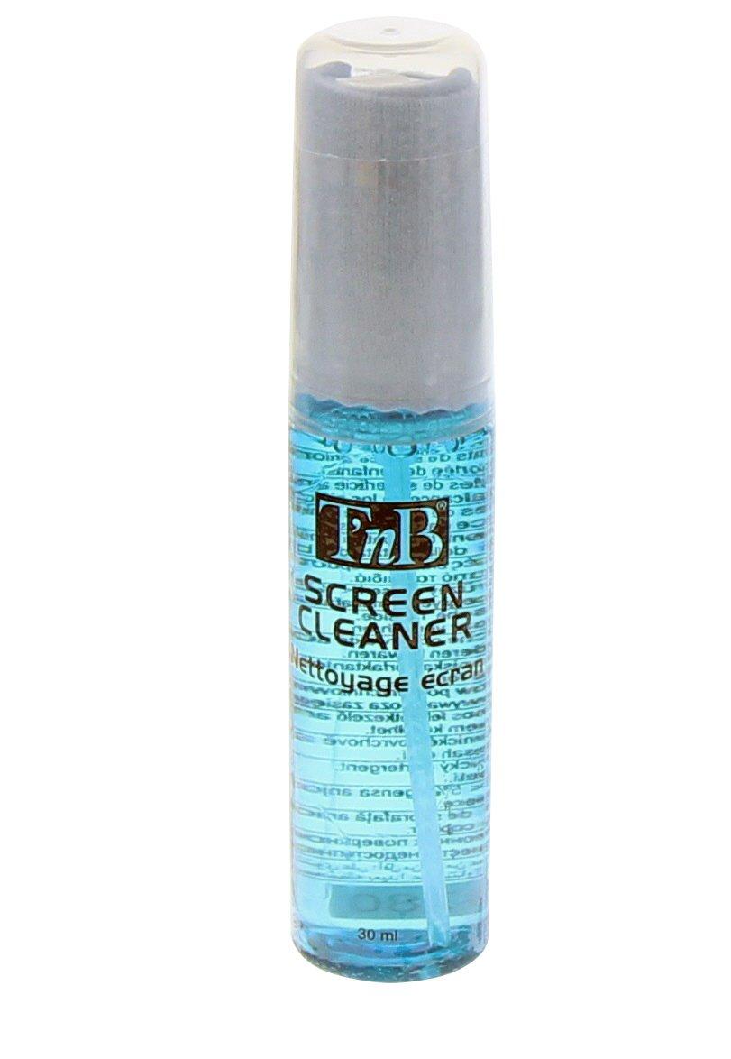 T'nB NEEC30 - Spray per pulire schermo PC, 30 ml, con tessuto in microfibra, colore: blu T' nB