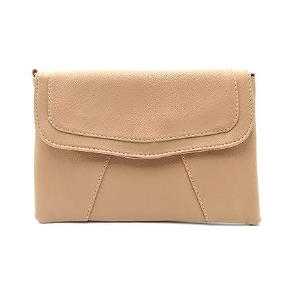 3bd2ae0bb9dd Amazon.com: MM&SS SHOP Crossbody Envelope Purse for Women Faux ...