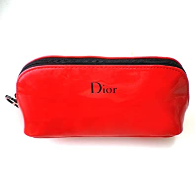 new arrival 2b84f 53ecf Amazon.co.jp: Dior ディオール ポーチ 小物入れ 赤 レッド ...