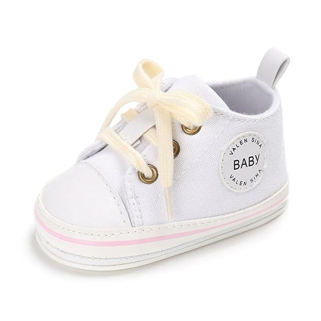 c779978e0d08 Cute Baby Canvas Sneaker Antiskid Soft Trainer Shoes 0-18M