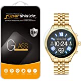 (2 Pack) Supershieldz for Michael Kors Access Gen 5 Lexington/Lexington 2 Smartwatch Tempered Glass Screen Protector, (MKT507