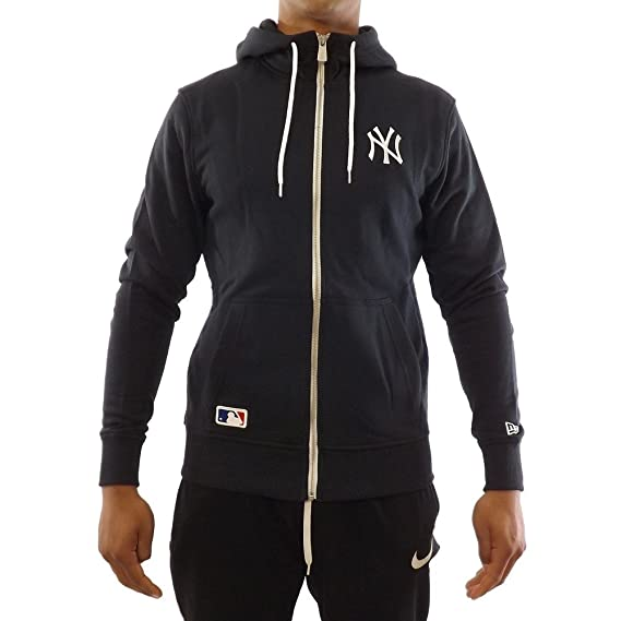 A NEW ERA Hoody - MLB York Yankees Team Apparel Blue Size  S (Small)  Amazon.co.uk   Clothing d180c8f8b0df