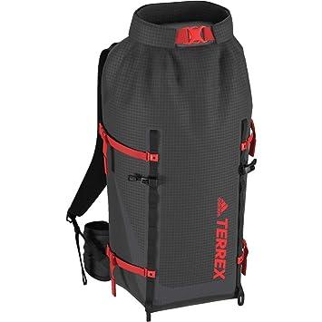 adidas TX Solo 40 LW, Mochila Unisex Adulto, Gris (Carbon/Negro/Roalre) 24x36x45 cm (W x H x L): Amazon.es: Zapatos y complementos