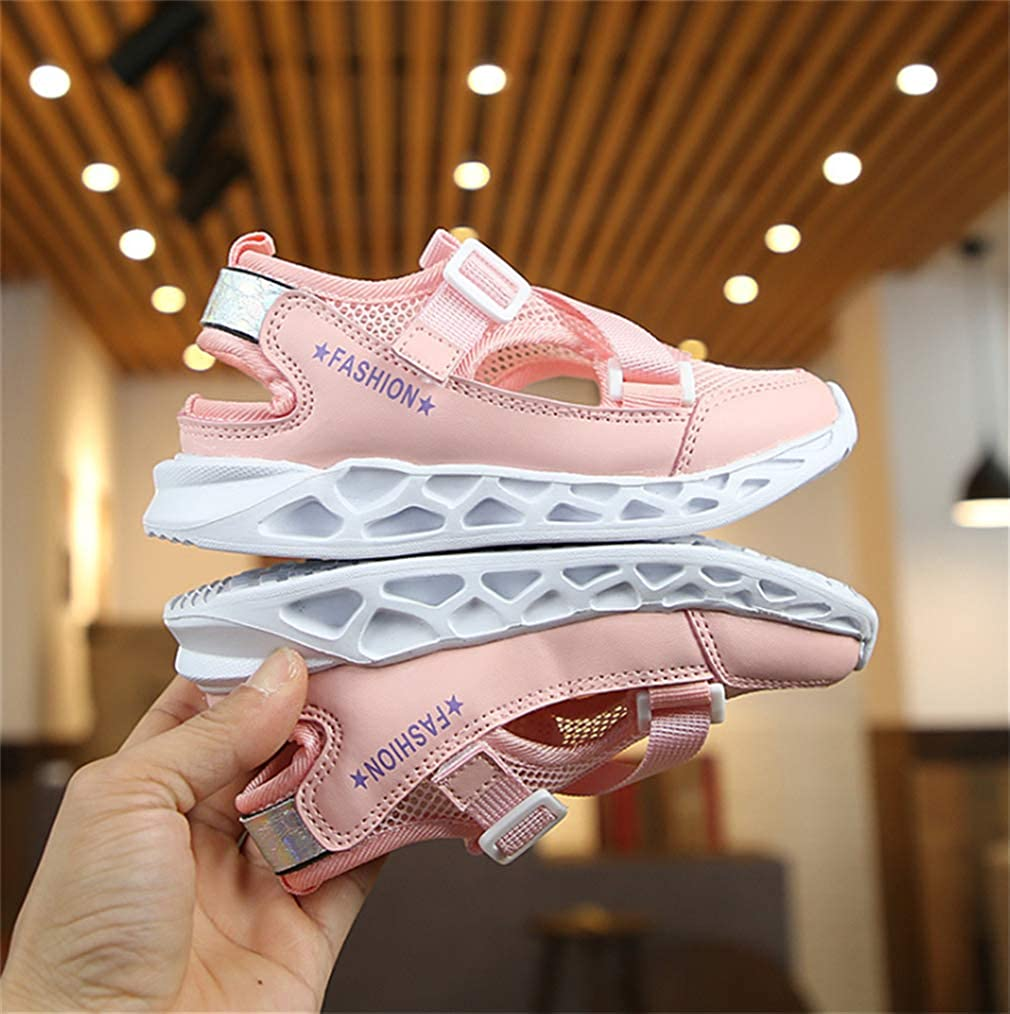 Super explosion Kids Lightweight Sneakers Boys and Girls Casual Running Shoes Pink-EU 33//1.5 M US Little Kid