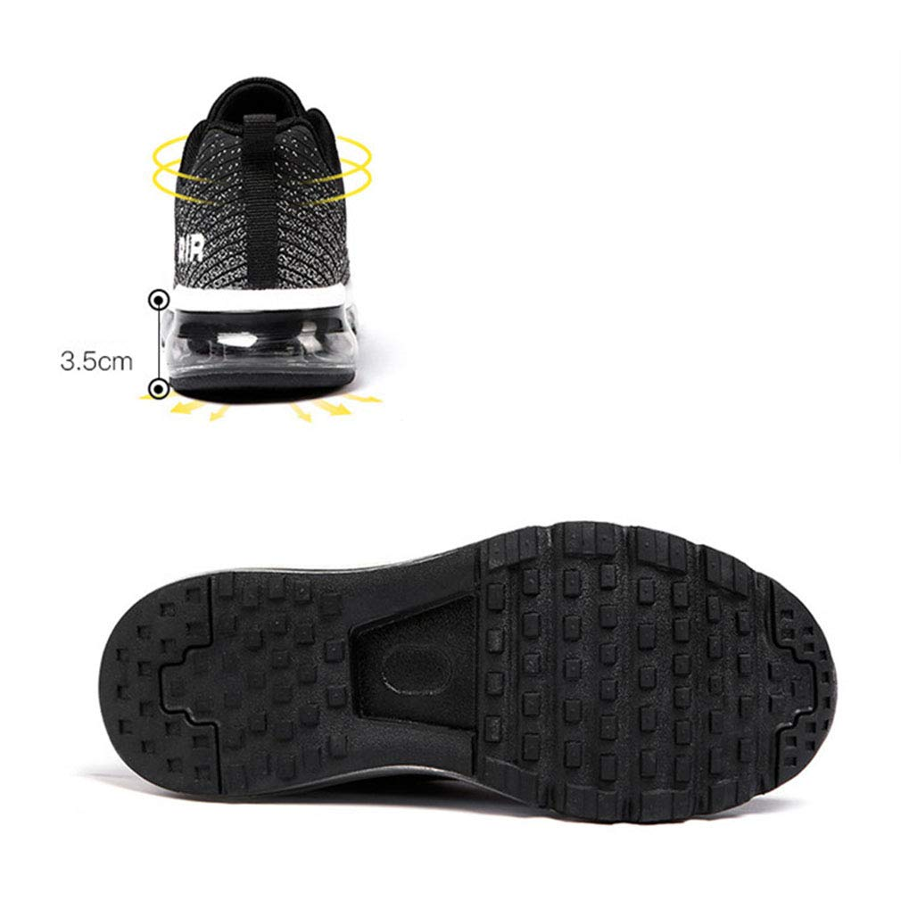 YAN Scarpe Sportive da Uomo, scarpe da ginnastica Basse di di di Tendenza Scarpe da Corsa in Maglia Scarpe a Fondo d'Aria Scarpe Casual Scarpe da Passeggio per Esterni (colore   Un, Dimensione   42) 61a0ea