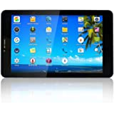 Yuntab 7 inch 3G unlocked smartphone tablet Android 4.4.2 SPEADTRUM 7731 1.2GHz Quad Core Cortex A7 800*1280 Capacitive touch screen 1GB+8GB MID Phablet Pad black with google play tore load Bluetooth wifi 3 Pin UK plug