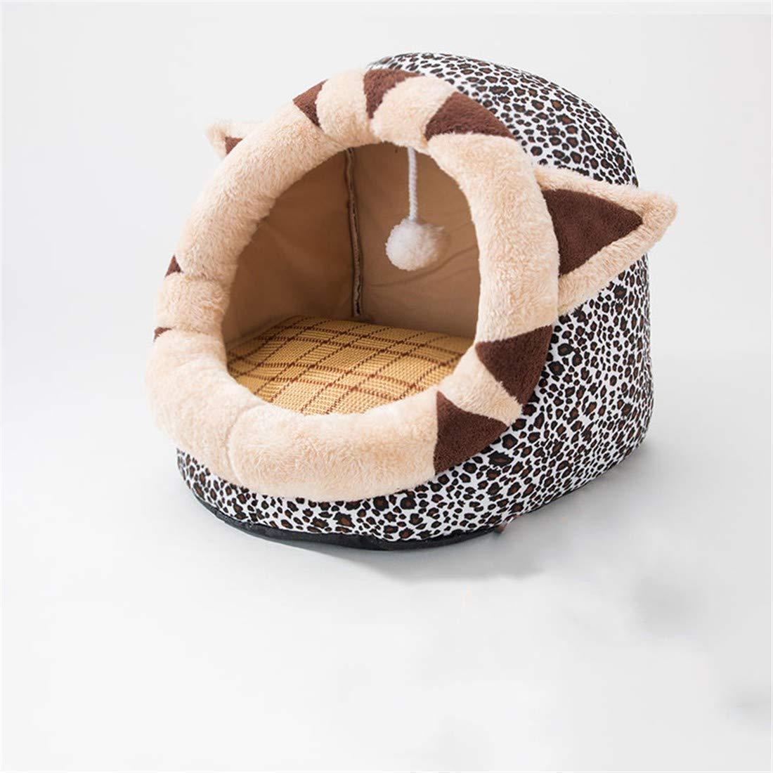 L 58X42X39cm WUTOLUO Cat litter cat sleeping bag four seasons universal pet supplies (color   L 58X42X39cm)