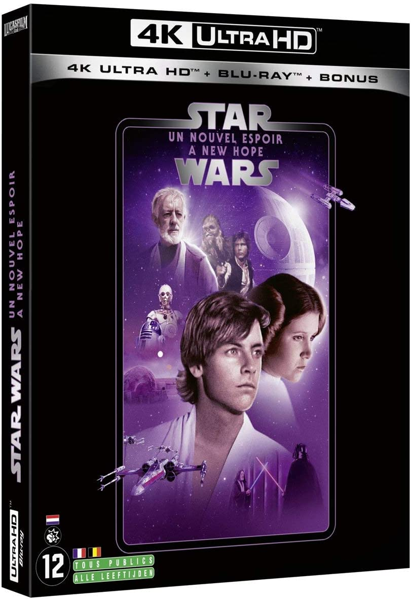 Star Wars Episode Iv Un Nouvel Espoir 4k Uhd Bonus Blu Ray Amazon Fr Mark Hamill Harrison Ford Carrie Fisher Peter Cushing Alec Guinness George Lucas Mark Hamill Harrison Ford Dvd Blu Ray