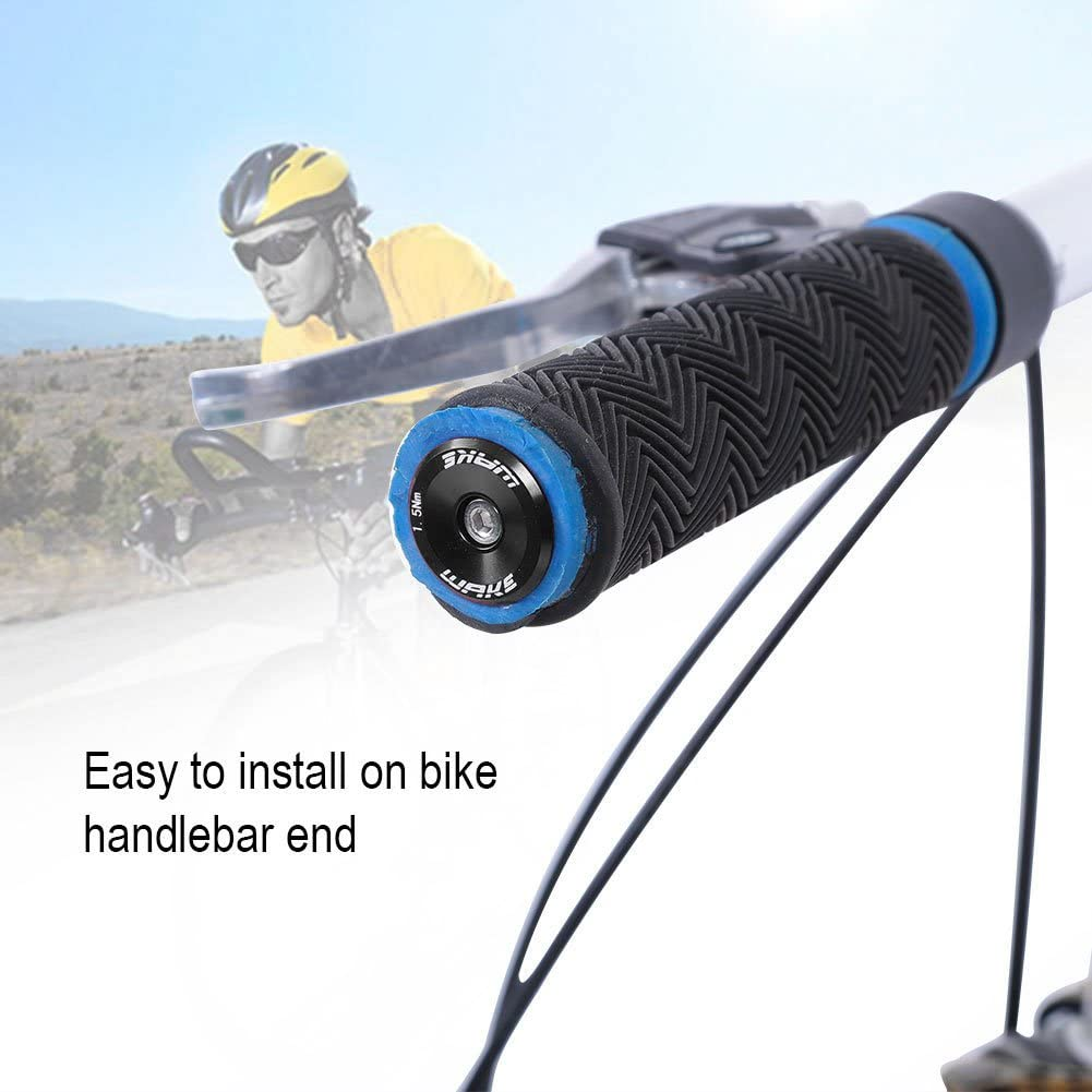 1 Pair Handlebar End Plugs Bar Cap Grip Handle Rod Protector Bike Accessories