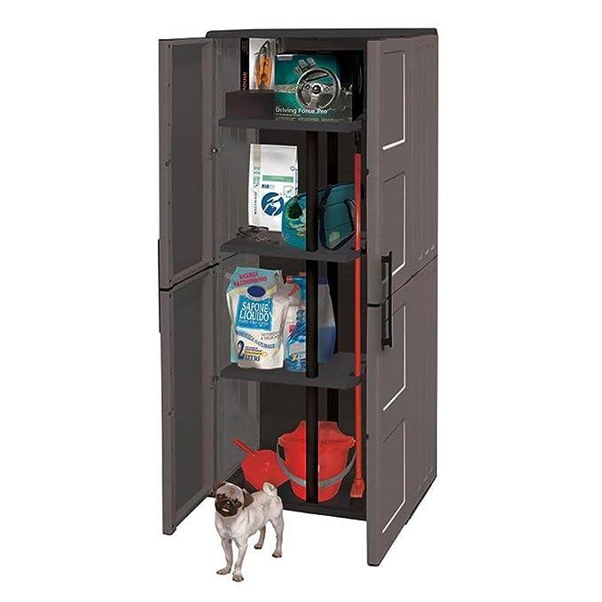 De material reciclable Ed ecosostenibile. Sellador de bisagras de acero, 2 puertas y estantes ajustables.: Amazon.es: Bricolaje y herramientas