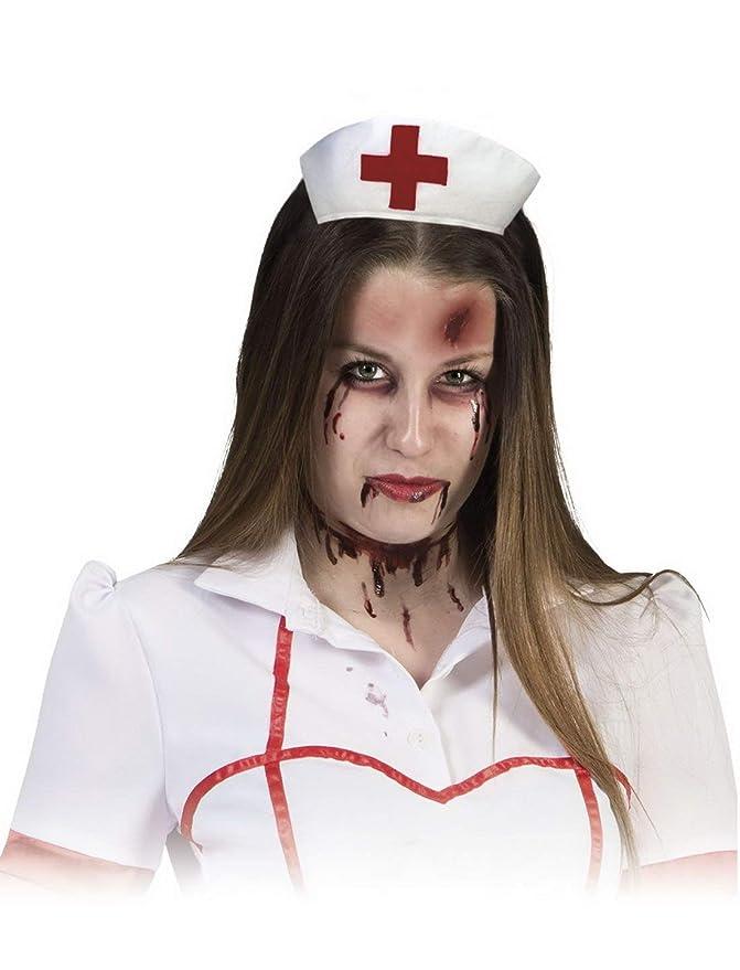 Kostum Accessoires Zubehor Make Up Set Horror Krankenschwester Mit
