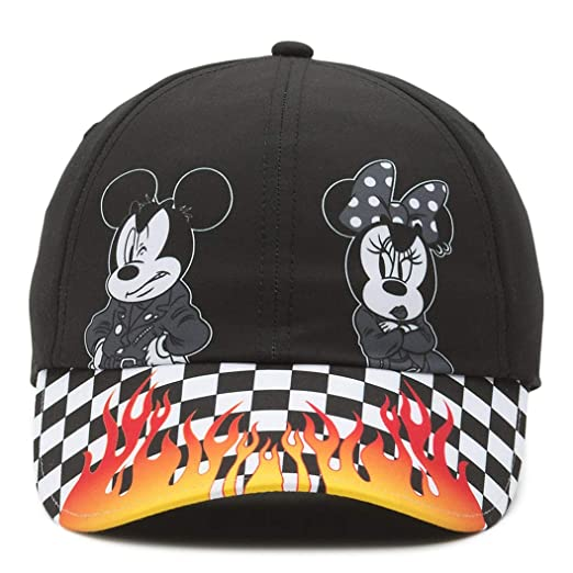 acd46375659 Vans Disney X Punk Mickey Mouse Court Side Hat Cap, Black at Amazon Women's  Clothing store: