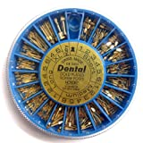Assorted 240 Pcs Dental Conical Screw Posts Kits