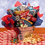 Blockbuster Night Movie Gift Basket