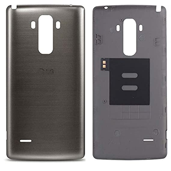 lowest price 9bb26 6a80e Joan Back Battery Case Cover Replacement for LG G Stylo G4 LS770 MS631 H631  H631TN H635 with NFC (Grey)