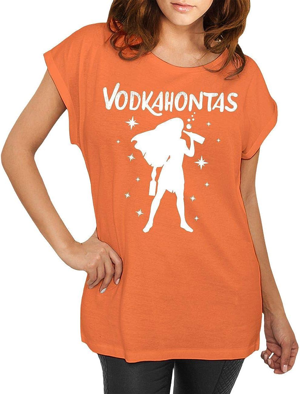 Frauen T-Shirt Wodka macht nüscht kaputt Alkohol Schnaps Sprüche Größe XS 5XL