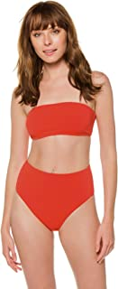 product image for Vitamin A Women's Papavero Mila Bandeau Bikini Top