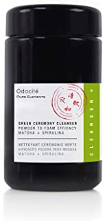 product image for Odacité - Green Ceremony Cleanser, Anti Aging Face Mask For Removing Dead Skin, Reveal a Smoother and Cleaner looking Face. Matcha & Spirulina, 3.5 fl. oz