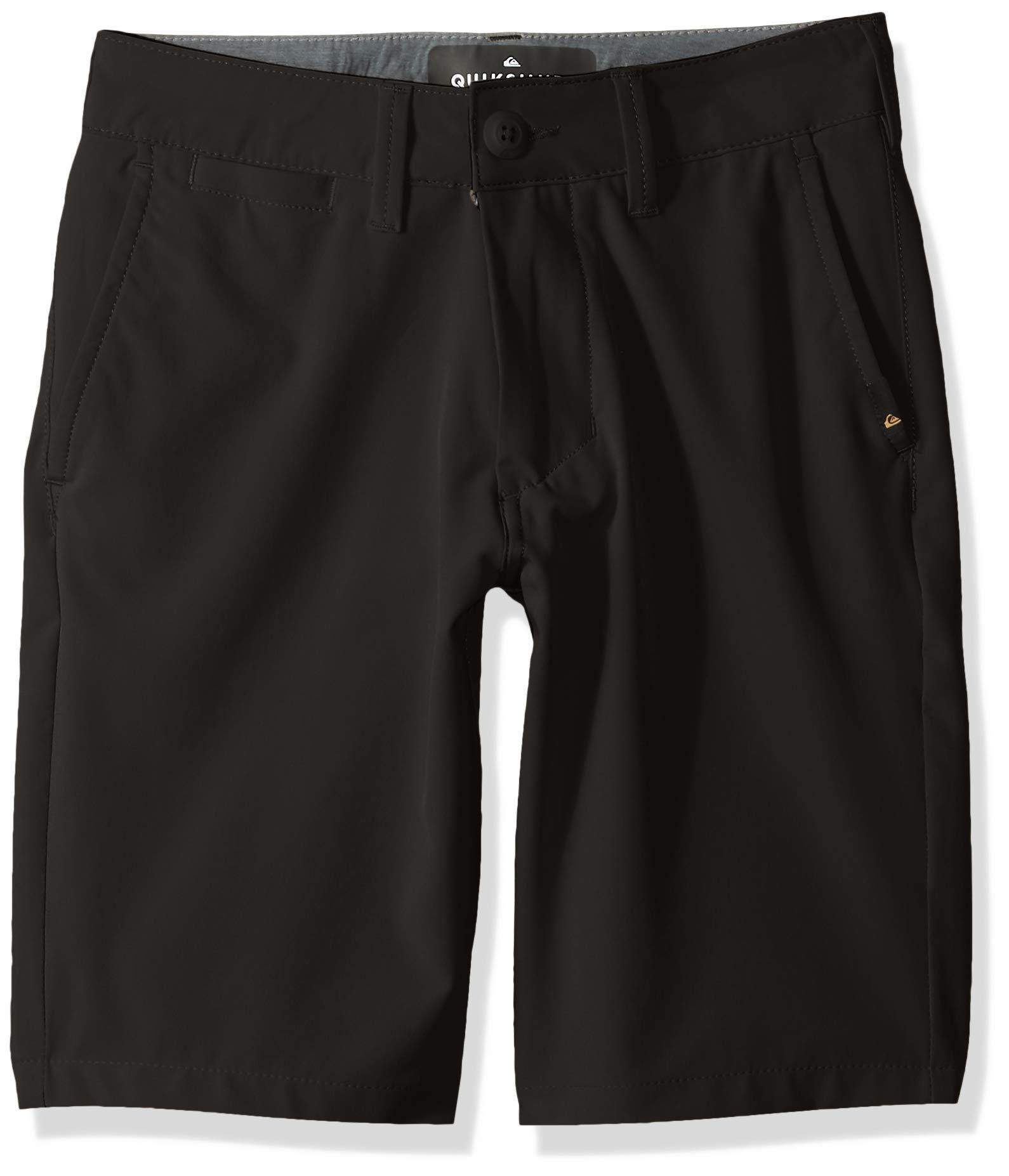 Quiksilver Boys' Big Union Amphibian Youth 19 Hybrid Short, Black 26/12