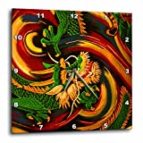 3dRose dpp_167098_3 Oriental Dragon Abstract a Fantasy Art Original-Wall Clock, 15 by 15-Inch Review