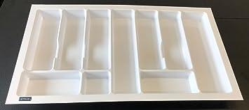 Rejs Besteckeinsatz F Uuml R K Uuml Chenschubladen Plastik Weiss