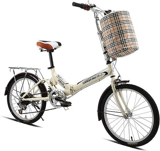 TTFGG para Bicicleta De Ciudad, De 20 Pulgadas De Bicicletas ...