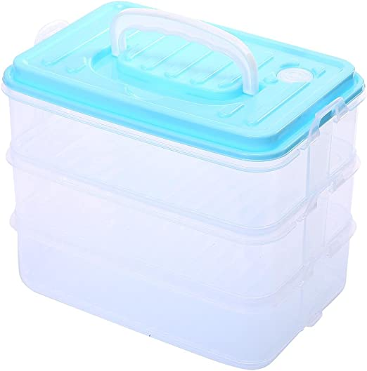 Kobwa - Recipiente de almacenamiento para congelador con tapa ...