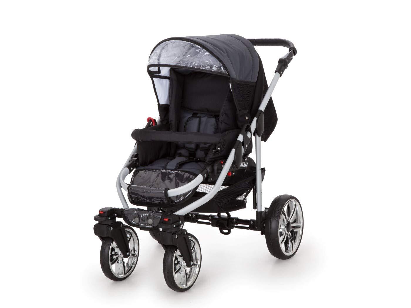 Kinderwagen 3in1 2in1 Set Isofix Buggy Kombikinderwagen X-Car by SaintBaby Beige /& Creme 2in1 ohne Babyschale