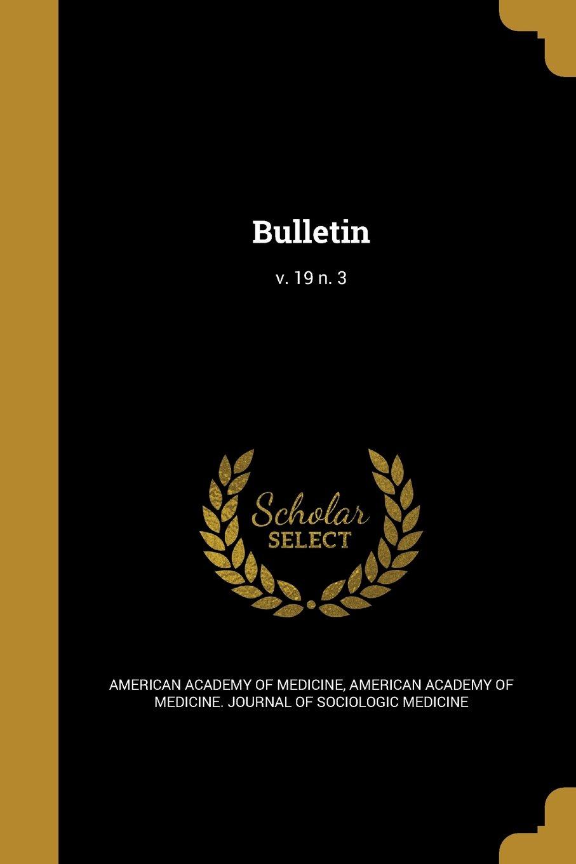 Download Bulletin; V. 19 N. 3 pdf