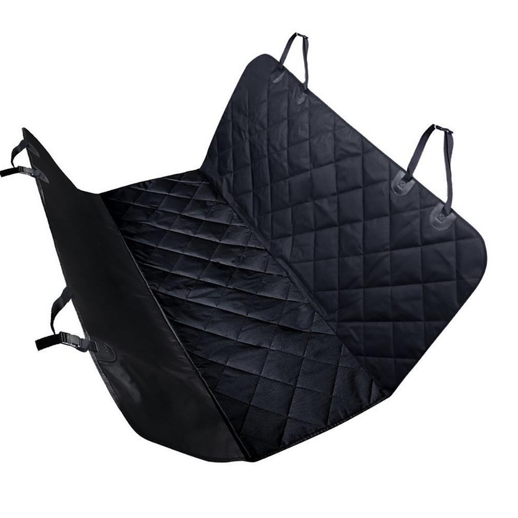 Car pet cushion LPY-Cuscino per sedile posteriore antiscivolo imbottito antiscivolo auto per animali domestici (nero)