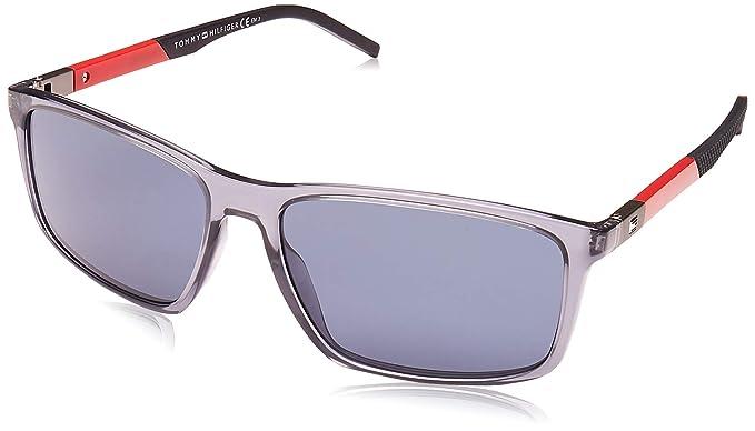 Tommy Hilfiger TH 1650/S Gafas de Sol, Multicolor (Blue), 59 ...