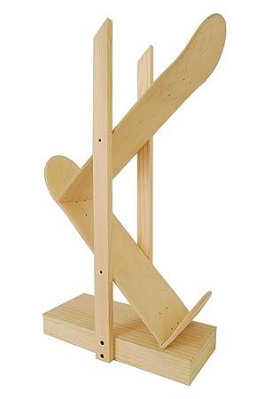 Regale Backflip 2.0, Natürliche Farbe. Tisch Mit Ahornholz Skateboard  Gemacht. Designermöbel Für Wohnzimmer