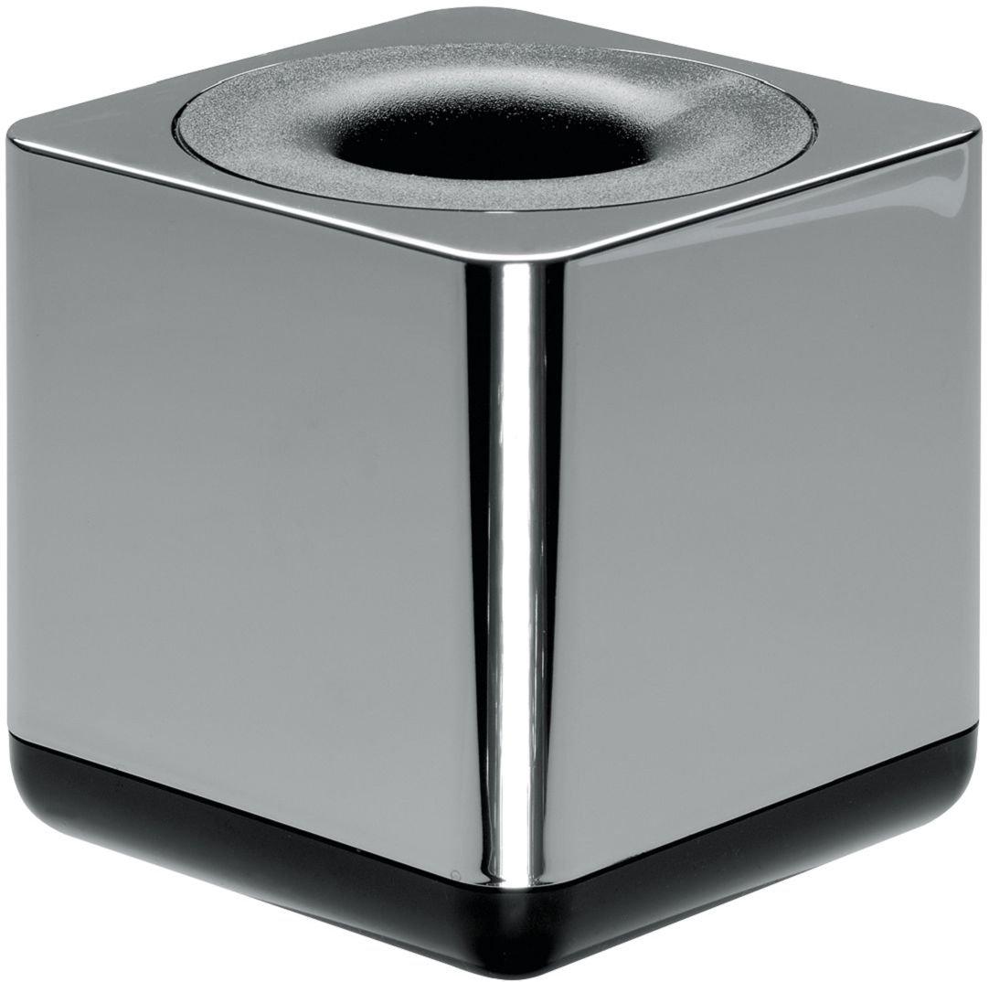 chrome distributeur de trombones i-Line CHROME /él/égant et esth/étique accessoire de qualit/é premium avec anneau magn/étique HAN 27652-88