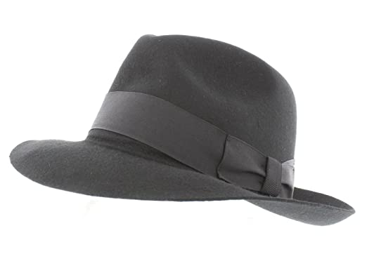 60d340f878f Mayfair Fedora by Dentons (60cm, Black): Amazon.co.uk: Clothing