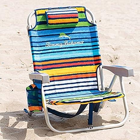 Tommy Bahama enfriador de mochila silla con bolsa de ...