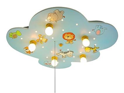 Niños - Lámpara LED de techo diseño Cielo estrellado con ...