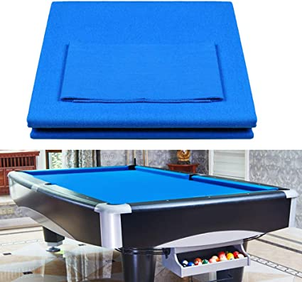 Boshen Worsted Blend Billiard Cloth Pool Table Felt Fast Speed For 7 8 9 Pool Table Pre Cut Bed Rails Sports Outdoors