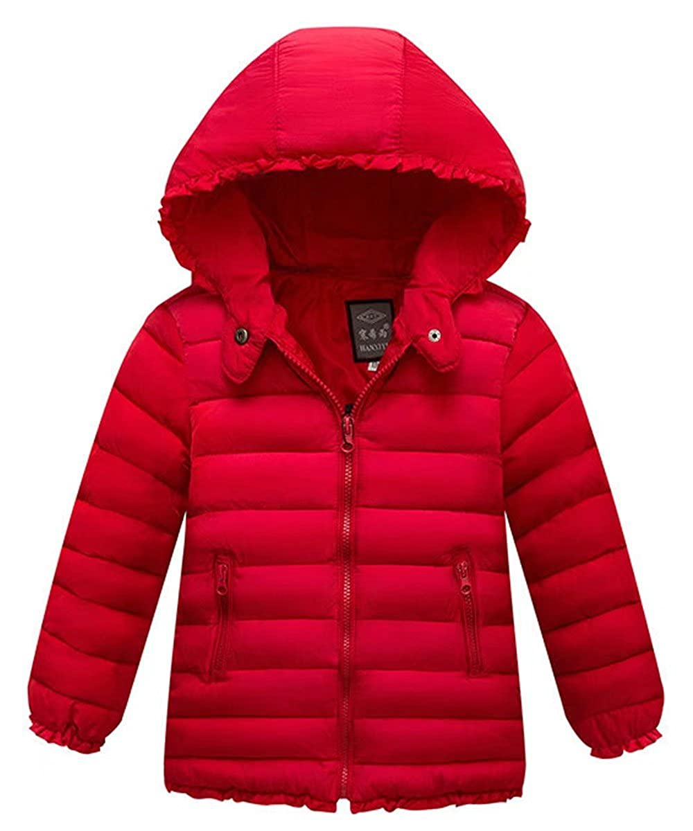 Gxia Girls Discounted Winter Lightweight Hooded Down Jacket