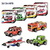 Creative Mini Pull Back Vehicles Assembly 3D Puzzle Paper Model Educational Toys for Kids Set of 4 Pieces Series 2 Wow! Very Fun