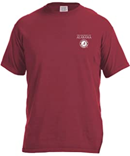 new product df8a8 18981 Image One Adult Unisex s NCAA Simple Circle Lines Short Sleeve Comfort  Color Tee