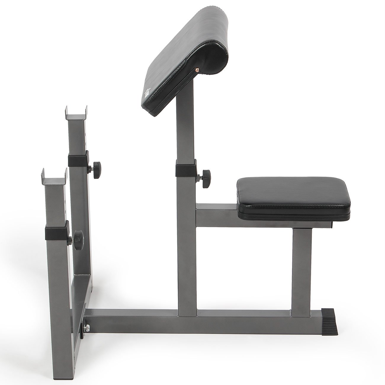 Akonza Adjustable Arm Curl Bench Machine Preacher Dumbell Biceps Weight Isolated Home by Akonza