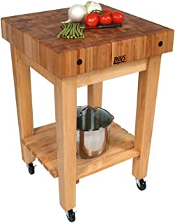 "product image for John Boos GB-C Butcher Block Unit - 24"" 4"" Laminated Hard Rock Maple"