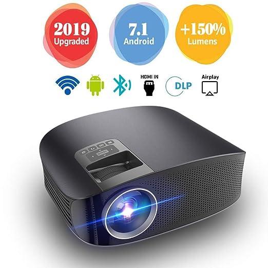 GBYNB Proyector Portátil Oficina En Casa Proyector LED HD 1080P ...