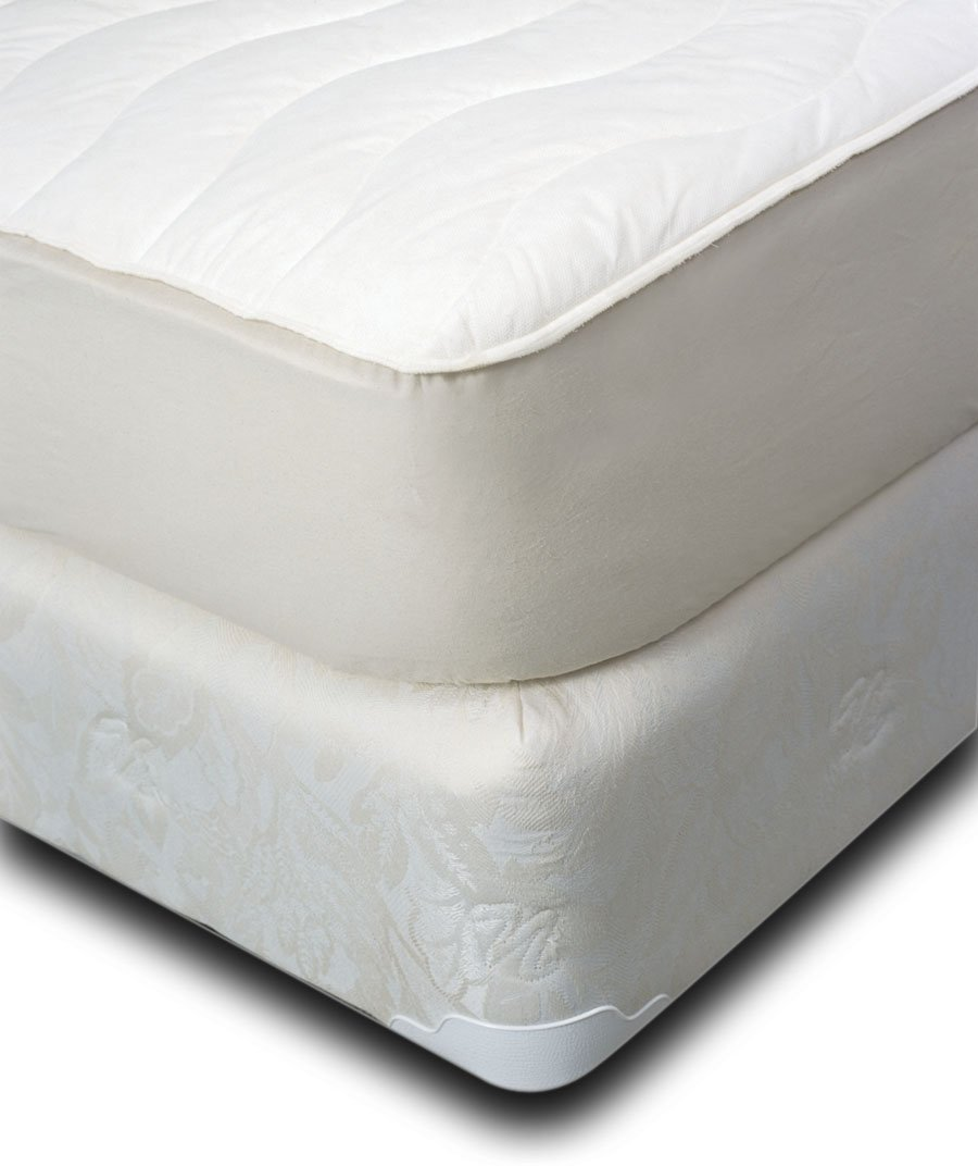 amazoncom natura washable fitted woolfilled cotton mattress pad queen home u0026 kitchen
